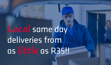 East London same day deliveries from R35