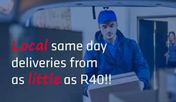 Nelspruit same day deliveries from R40