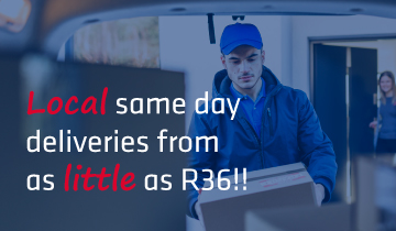 Pretoria same day deliveries from R36
